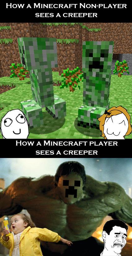 Minecraft creeper the incredible creeper