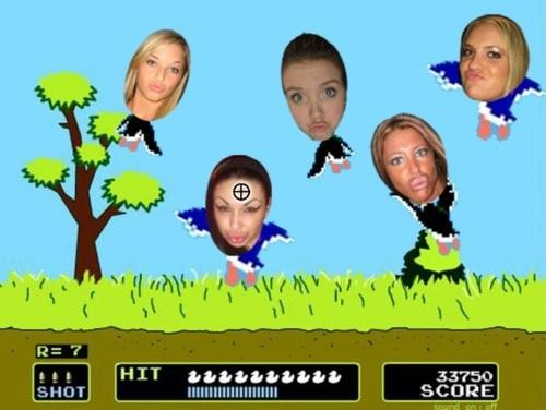 duck hunt duck face