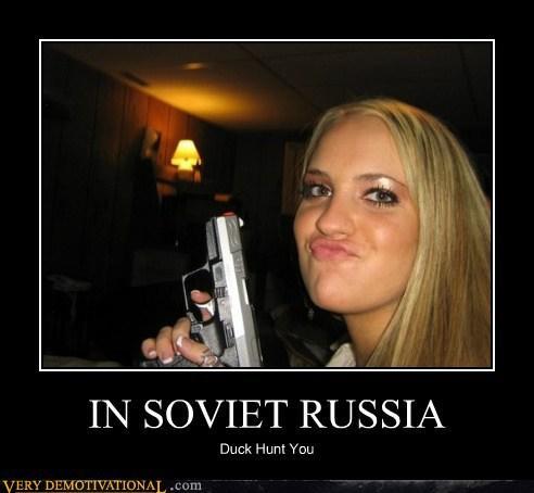 duck hunt soviet russia