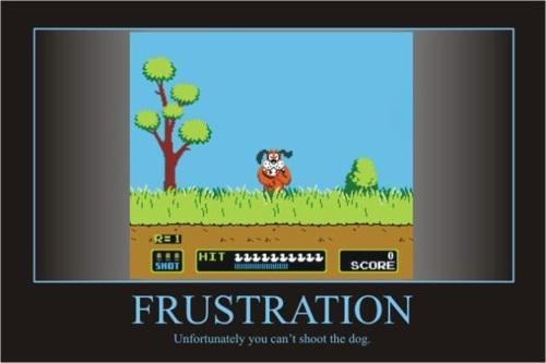 duck hunt dog demotivational