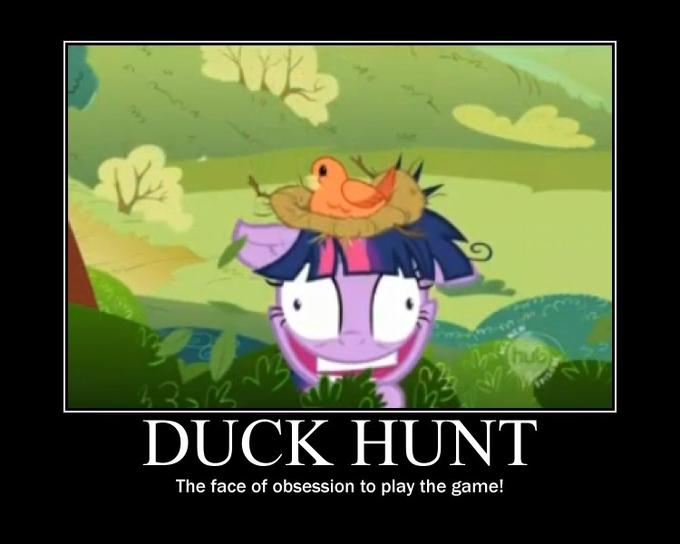 duck hunt........ponified..............really?