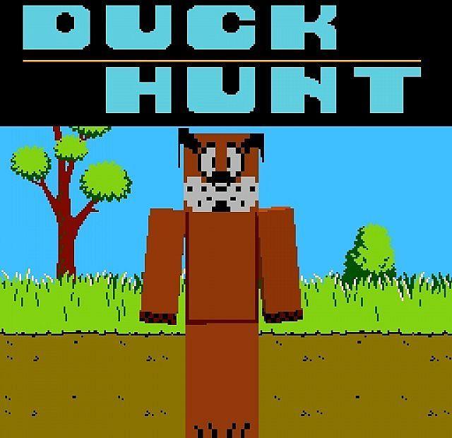 duck hunt dog minecraft skin