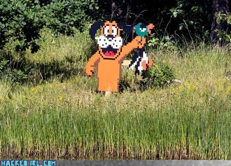 duck hunt cutout