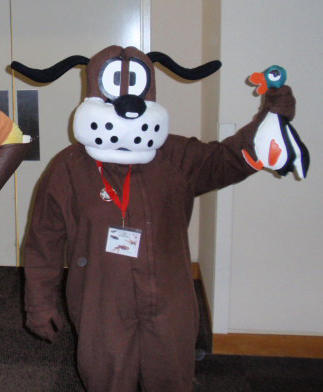 gen con duck hunt dog costume
