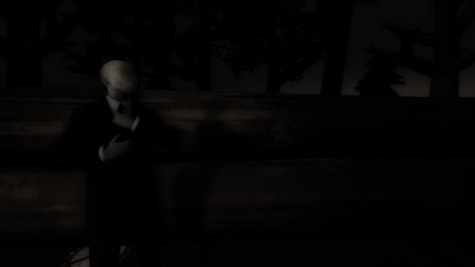 Slender Man wallpaper #2