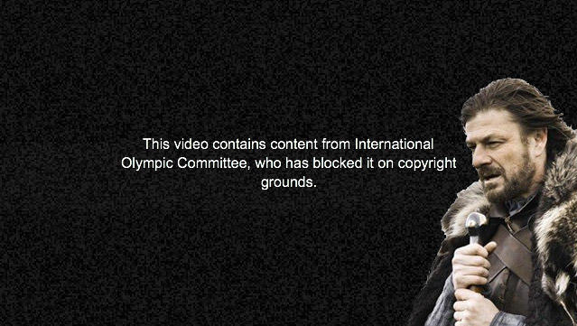 Brace Yourselves, IOC's DMCA Takedowns are Coming