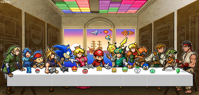 Last Videogames Supper