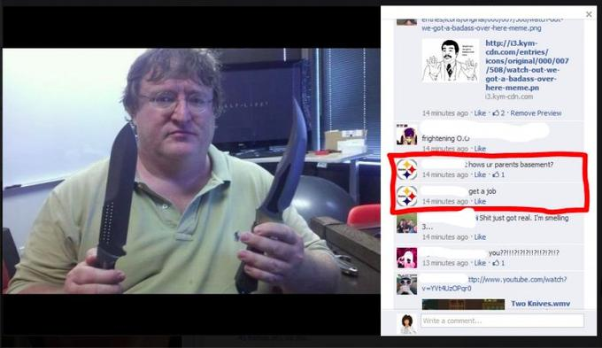 Steelers Fan Has No Idea Who Gabe Newell Is