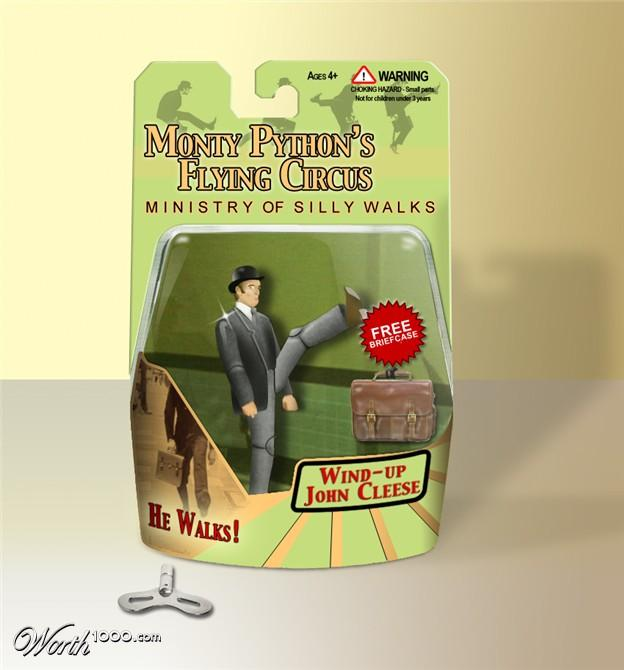 Silly Walks action figure