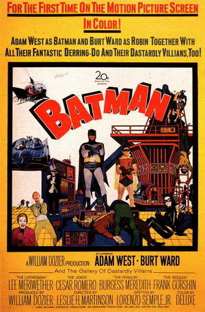 The first Batman film (in color)