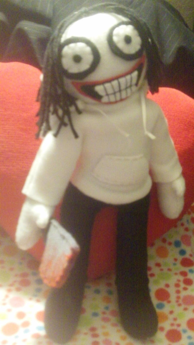 12 Inch Jeff the Killer Plush