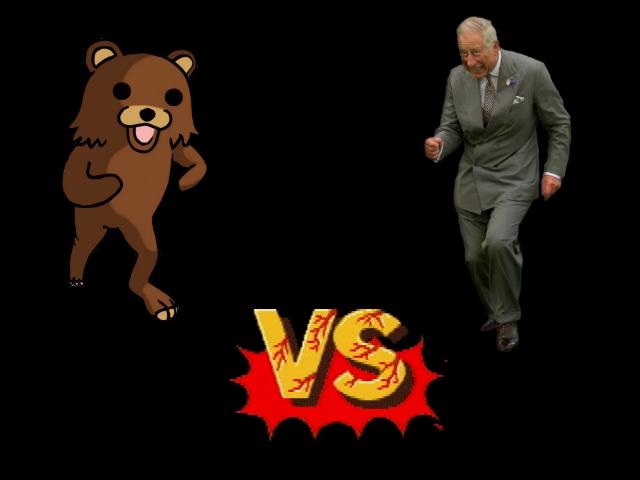 Pedobear Versus Dancing Prince Charles