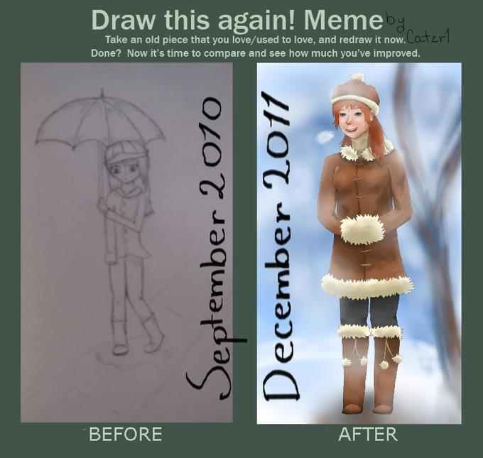 Improvement Meme - Winter