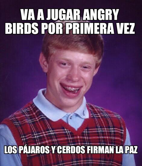 Angry Birds Bad Luck