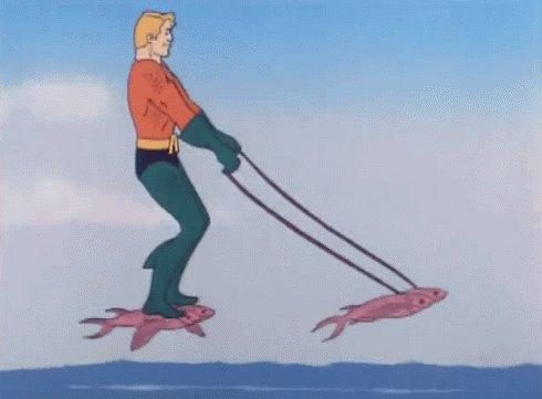 aquaman is rollin
