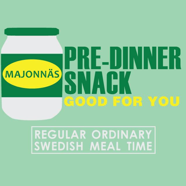 Pre-Dinner Snack Shirt by 20ozMonkey