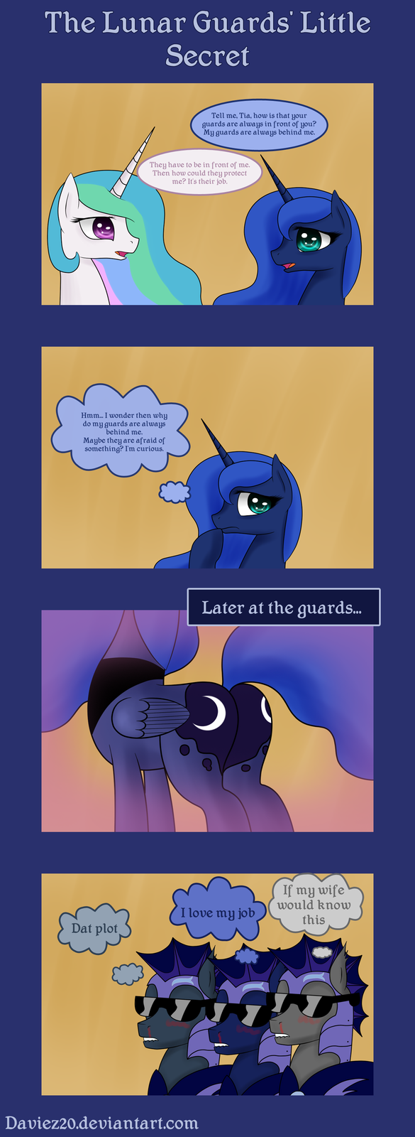 The Lunar Guards' Little Secret