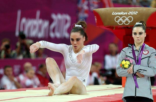What caused McKayla to be not impressed?