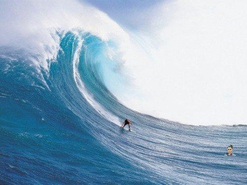 Amazing surfing doesn't impress me
