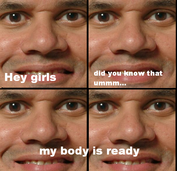 You heard him, ladies