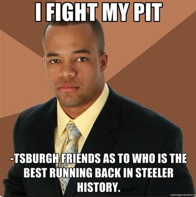 I fight my pit