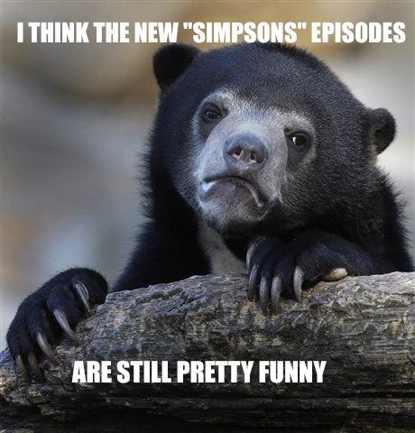 Simpsons Confession Bear