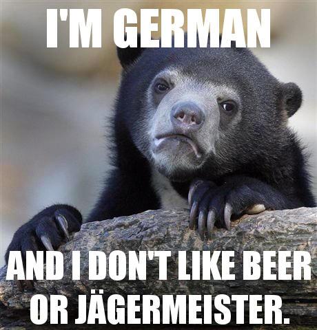 I'm german ...