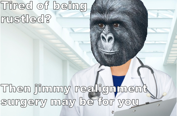 Jimmy realignment surgery