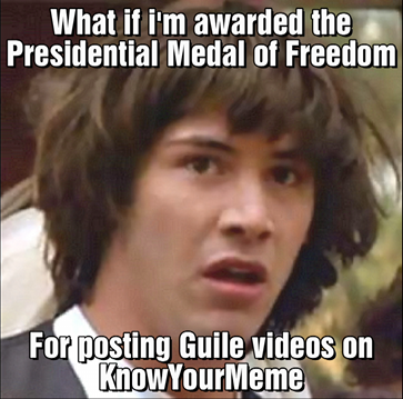 Conspiracy Keanu Gets Awarded