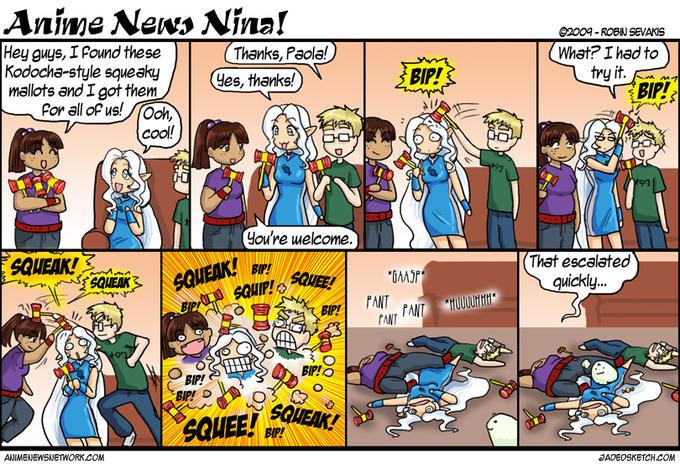 Anime News Nina - Feb. 11, 2009