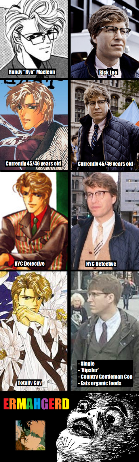 Hipster Cop's Secret Identity
