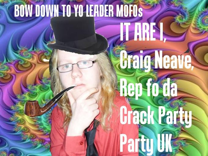 Original Craig the Crack Dealer