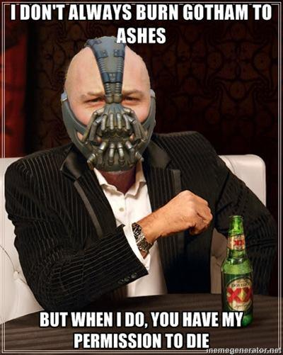 The Most Interesting Bane In Gotham