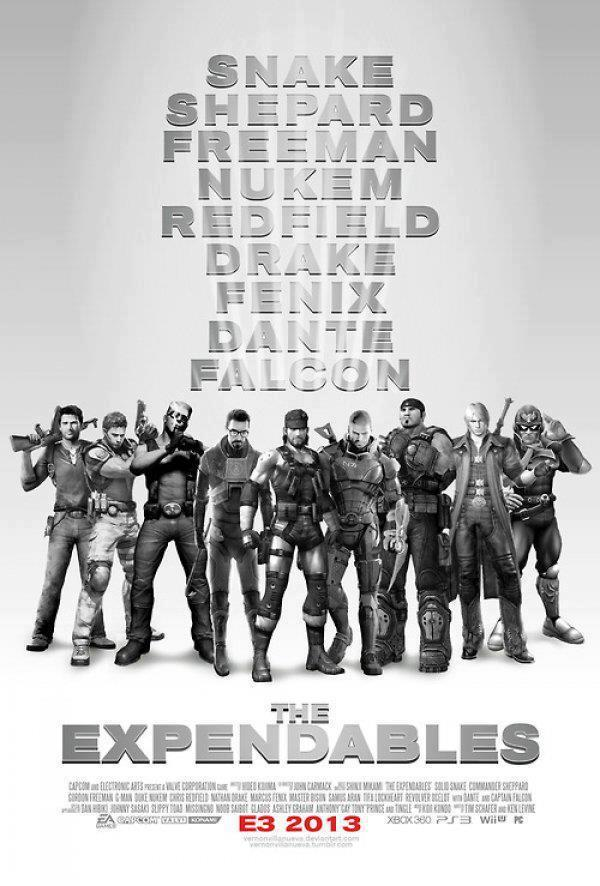 The Video Game Expendables