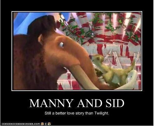 Manny and Sid: Still a Better Love Story than Twilight