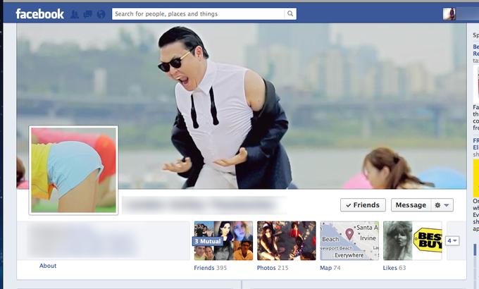 Facebook Gangnam Style