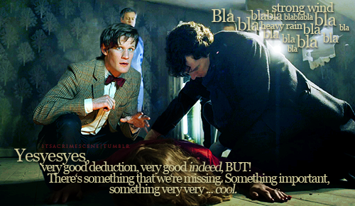 Doctor Who Meets Sherlock