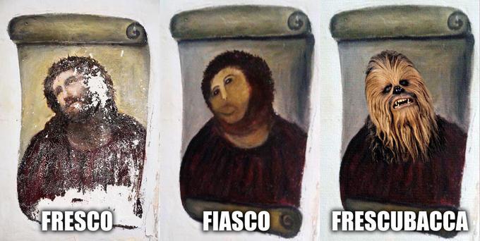 Frescubacca - Evolution