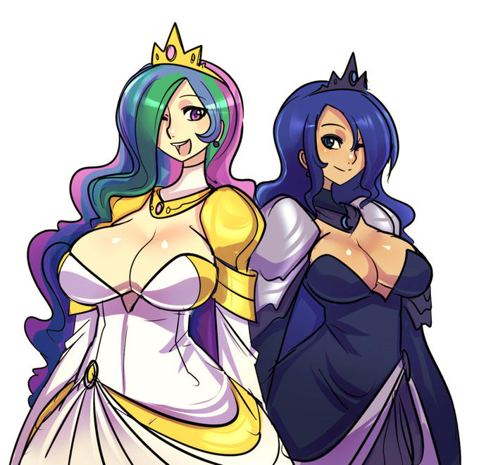 Celetsia and Luna