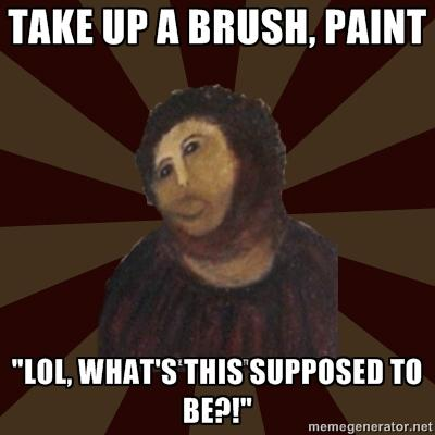 Take up a Brush