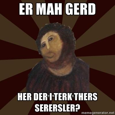 HER DER I TERK THERS SERERSLER?