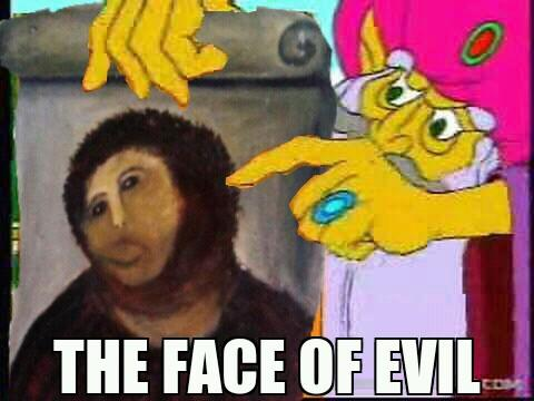 the new face of evil