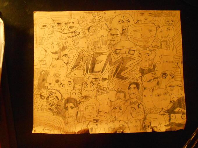 rage comic artwork