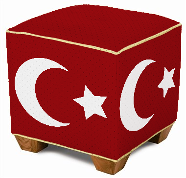 Ottoman ottoman (not really a pun, but sort of)