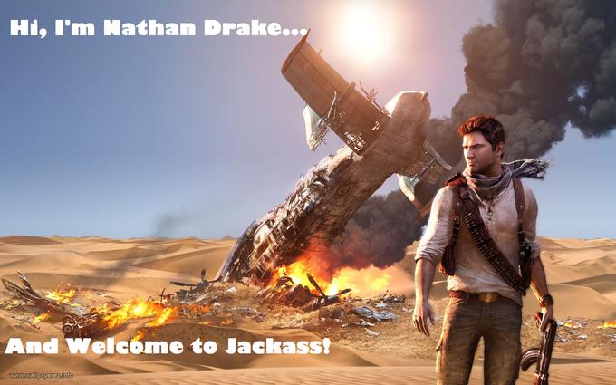 Uncharted 3 Jackass