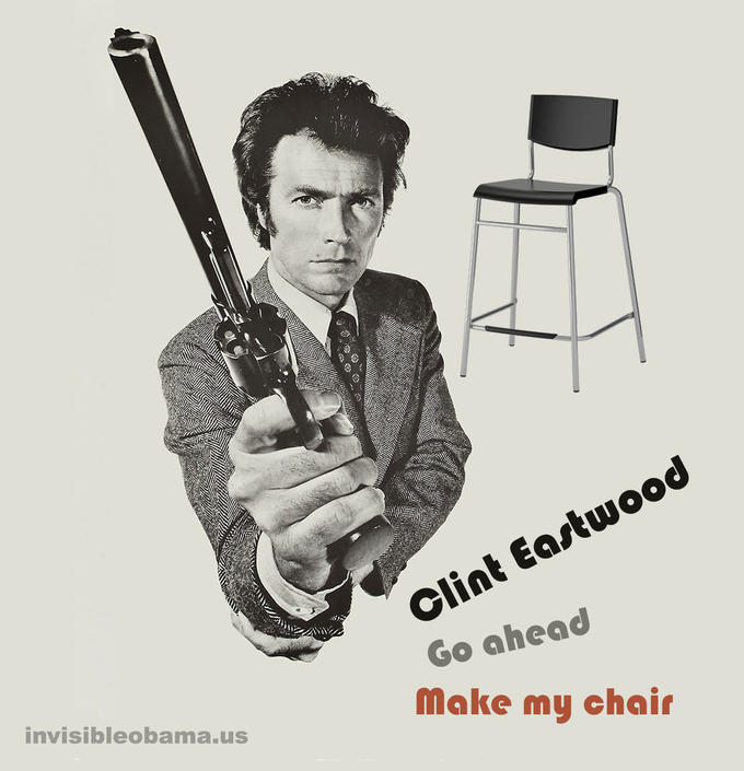 Go ahead, make my chair!
