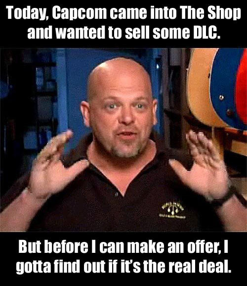 Rick on Capcom's DLC