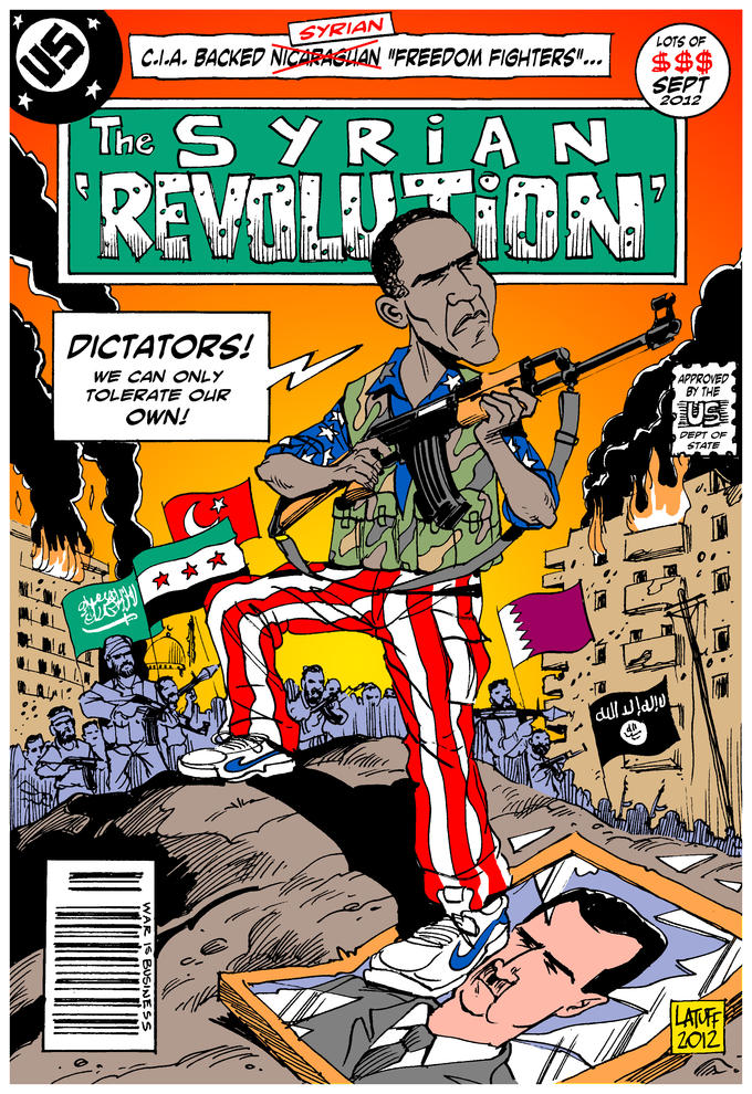 "The Syrian ""Revolution"""