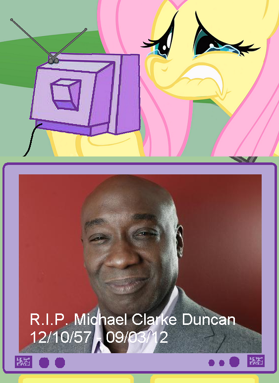 Rest in Peace, Michael Clarke Duncan