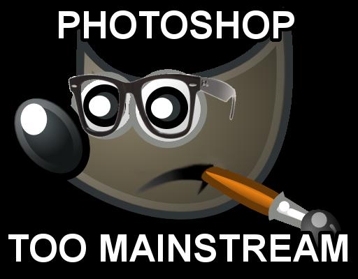 Hipster GIMP